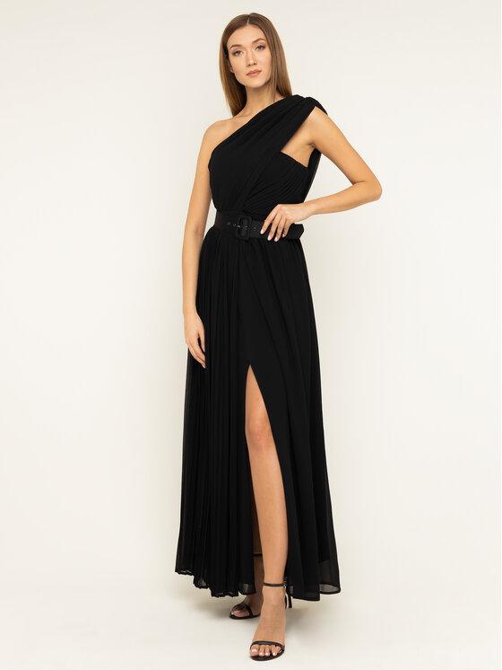 Silvian Heach Sukienka wieczorowa Boneye CVA19054VE Czarny Regular Fit