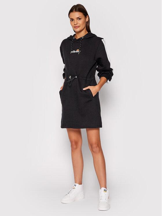 Ellesse Ellesse Džemper haljina Siccus SGK12174 Crna Regular Fit