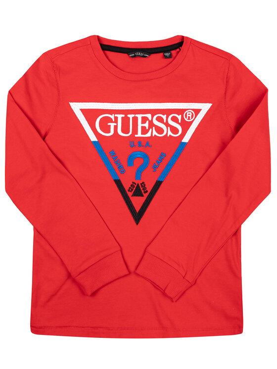 Guess Guess Džemperis L93I16 K82E0 Raudona Regular Fit