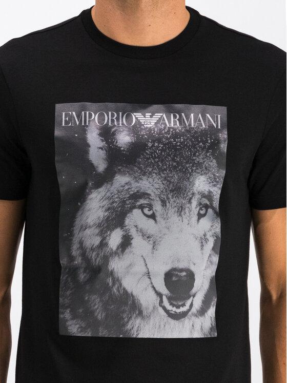 Emporio Armani Emporio Armani T-Shirt 6G1T77 1J19Z 0922 Černá Regular Fit