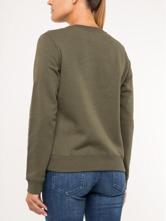 Calvin Klein Jeans Calvin Klein Jeans Džemperis Institutional J20J212483 Žalia Regular Fit