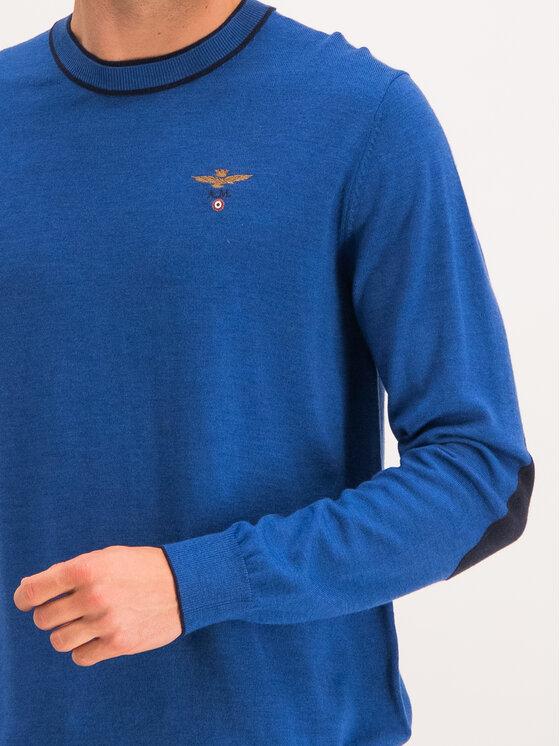 Aeronautica Militare Aeronautica Militare Maglione 192MA1186L257 Blu scuro Regular Fit