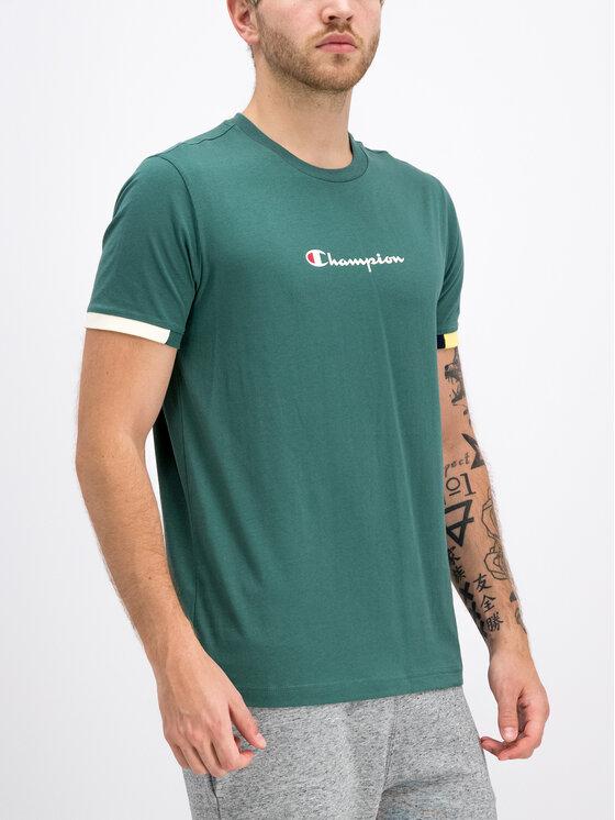 Champion Champion T-shirt 212791 Vert Comfort Fit