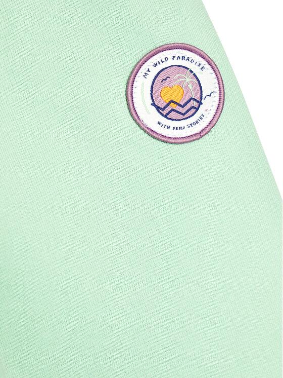 Femi Stories Femi Stories Spodnie dresowe Oksa Zielony Regular Fit