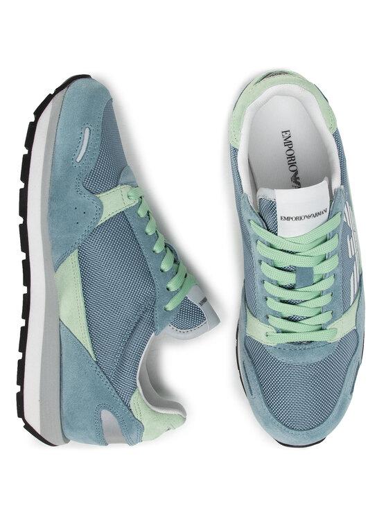 Emporio Armani Emporio Armani Sneakersy X3X058 XL481 R729 Niebieski