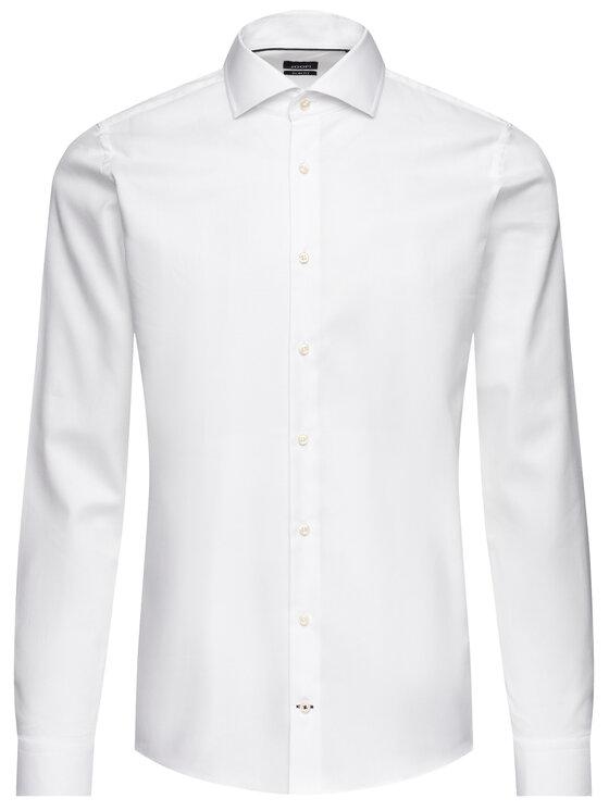 Joop! Joop! Риза 30009556 Бял Slim Fit