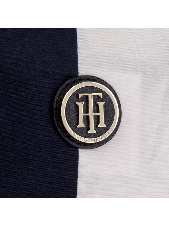Tommy Hilfiger Tommy Hilfiger Borsa Poppy Tote Vertical Stripe AW0AW03763 Blu scuro