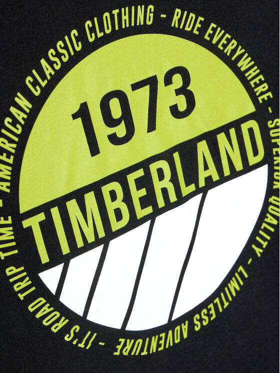 Timberland Timberland T-Shirt T45817 Czarny Regular Fit