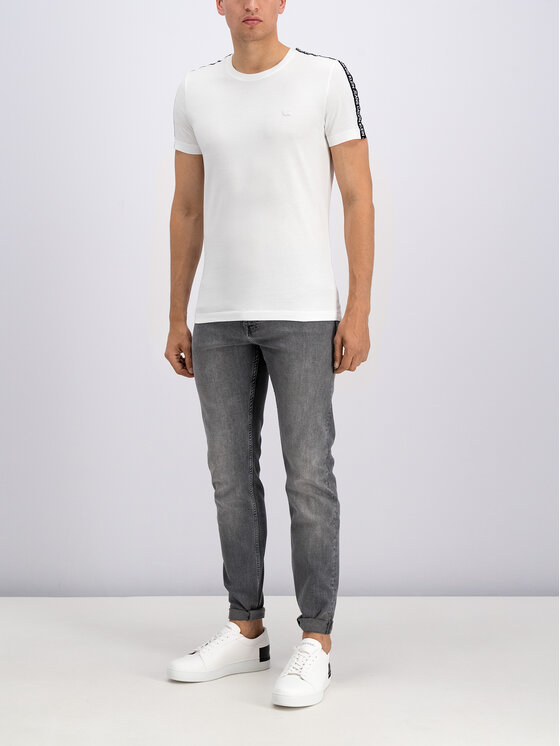 Calvin Klein Jeans Calvin Klein Jeans T-Shirt J30J312577 Bílá Regular Fit