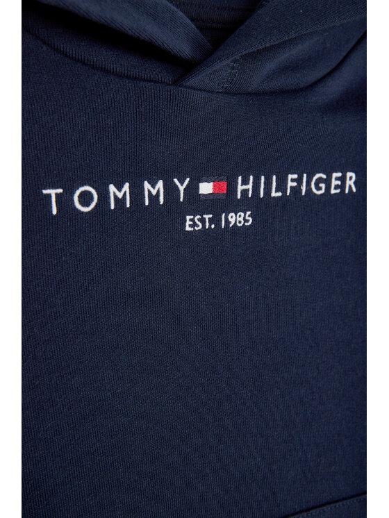Tommy Hilfiger Tommy Hilfiger Μπλούζα Essential Hoodie KB0KB05673 M Σκούρο μπλε Regular Fit