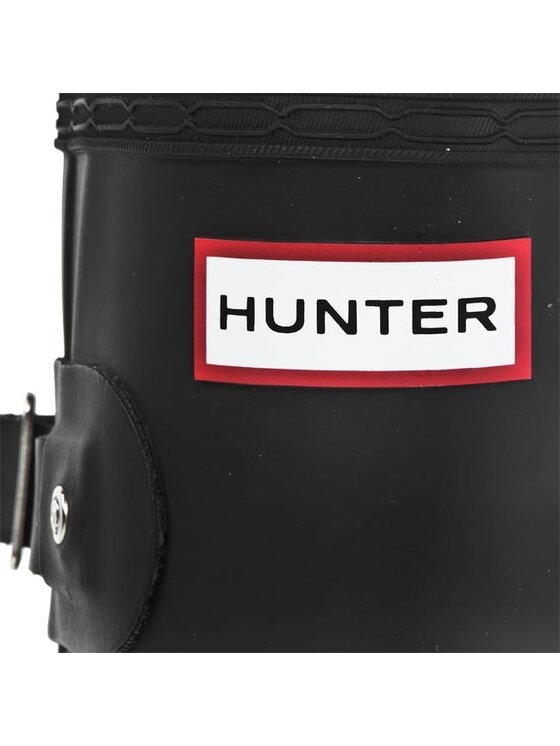 Hunter Hunter Гумени ботуши Original Adjustable W23706 Черен