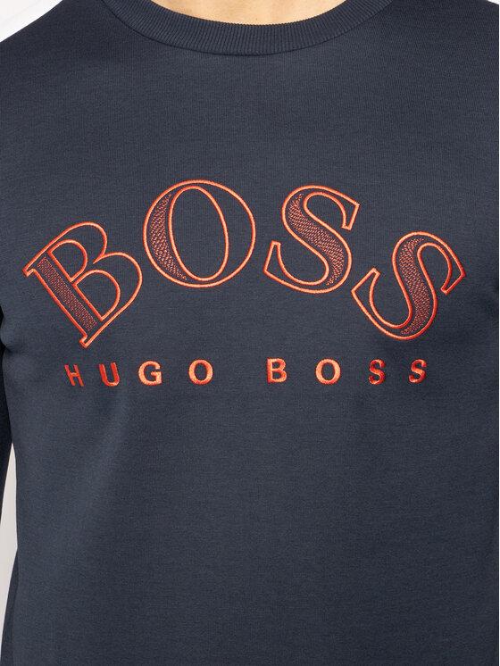 Boss Boss Суитшърт Salbo 50418718 Тъмносин Regular Fit