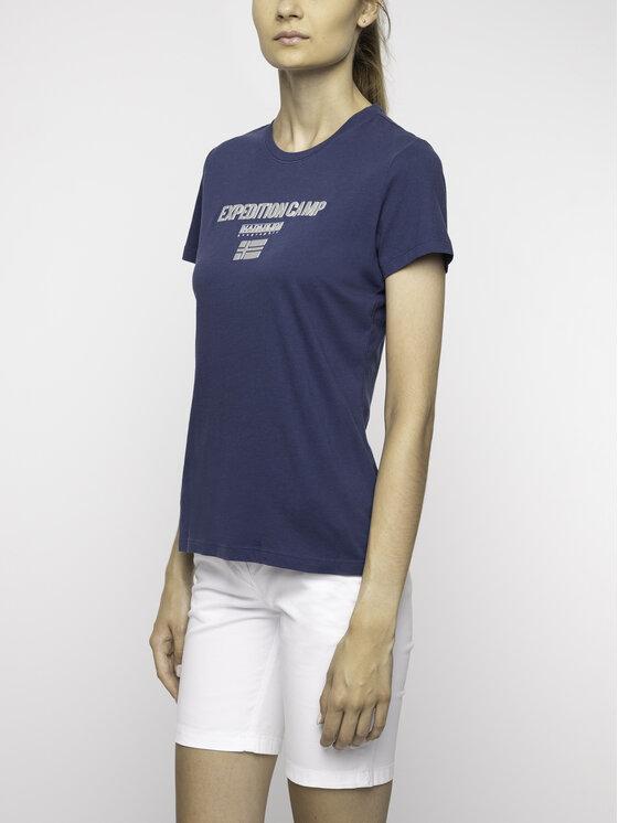 Napapijri Napapijri T-Shirt Sonthe W N0YIKR Granatowy Regular Fit