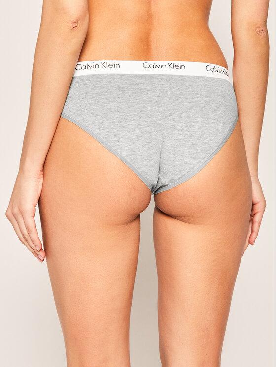 Calvin Klein Underwear Calvin Klein Underwear Класически дамски бикини 000QF1369E Сив