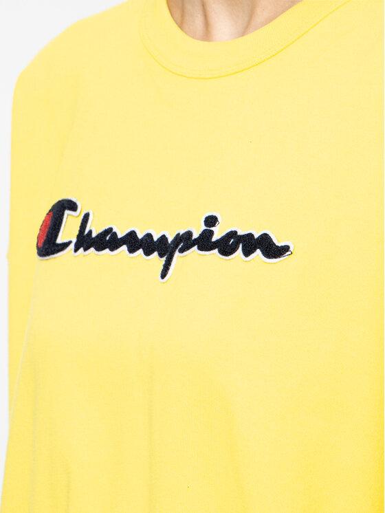 Champion Champion Sweatshirt 111384 Gelb Oversize