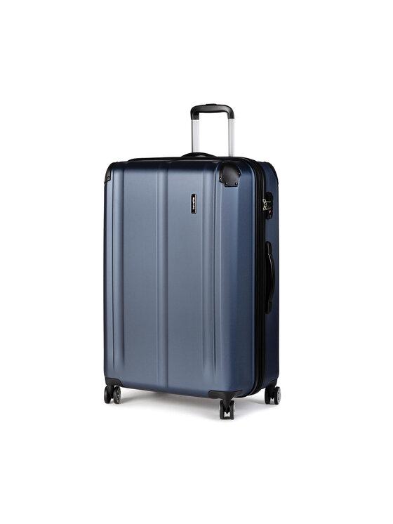 Travelite Didelis Kietas Lagaminas City 73049-20 Tamsiai mėlyna