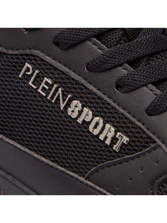 Plein Sport Plein Sport Sportcipő Lo-Top Sneakers A18S MSC1718 STE003N Fekete