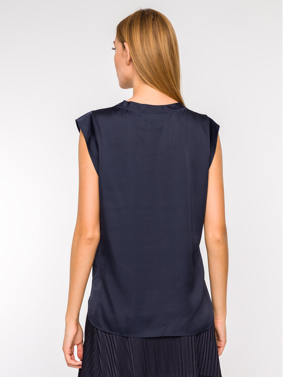 DKNY DKNY Top P9GA6BWB Tmavomodrá Regular Fit
