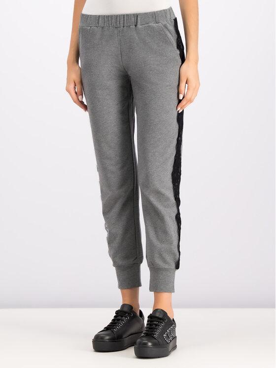 TwinSet TwinSet Pantaloni da tuta 192LI2MBB Grigio Regular Fit