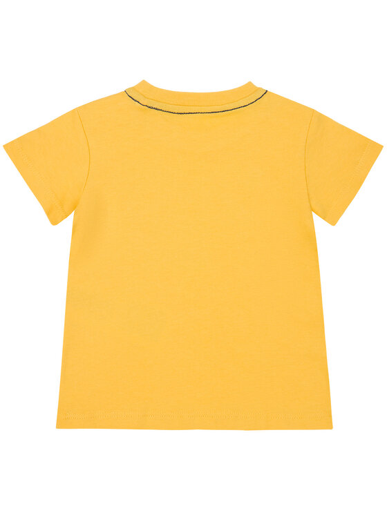 Guess Guess T-shirt I91I11 K5M20 Giallo Regular Fit