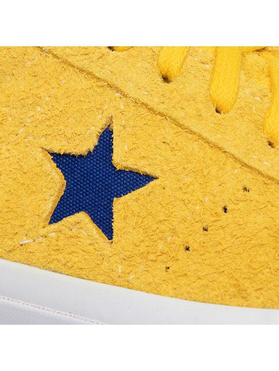 Converse Converse Tenisówki One Star Ox 166848C Żółty