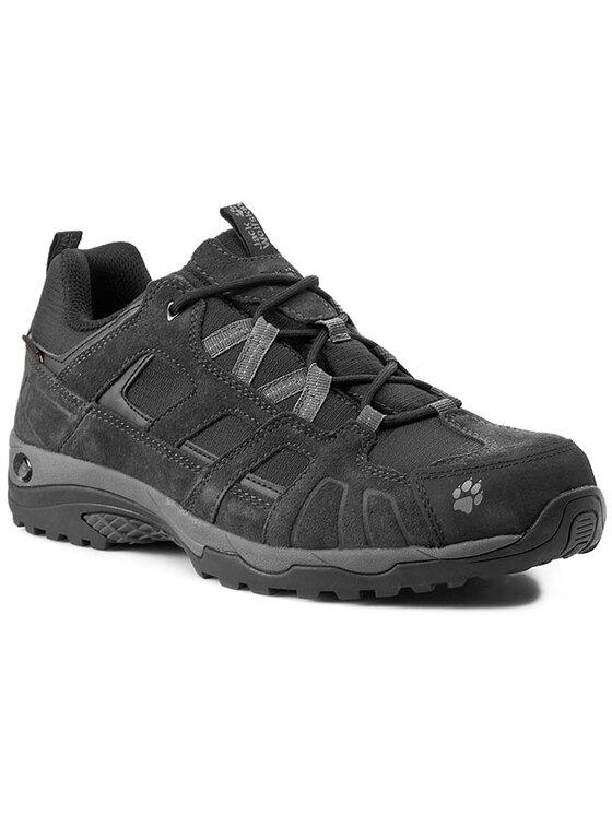 Jack Wolfskin Jack Wolfskin Κλειστά παπούτσια Vojo Hike Texapore Men 4011381-6101080 Μαύρο