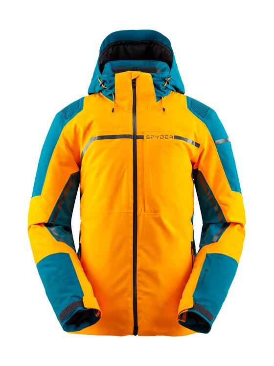 Spyder Spyder Kurtka narciarska Titan 191020 Pomarańczowy Regular Fit