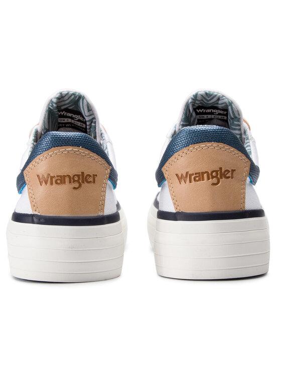 Wrangler Wrangler Teniszcipő Java WL91550A Fehér