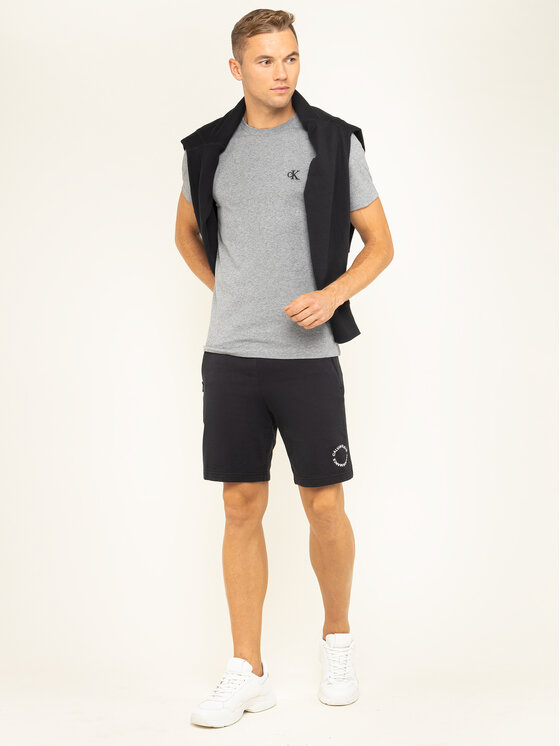 Calvin Klein Performance Calvin Klein Performance Шорти от плат 00GMF9S865 Черен Regular Fit