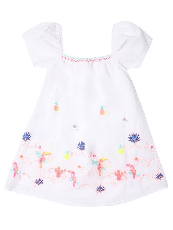 Billieblush Billieblush Sukienka codzienna U12573 Biały Regular Fit