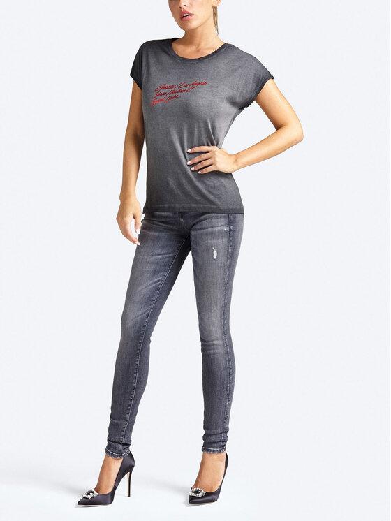 Guess Guess Marškinėliai W93I82 K7OP0 Pilka Regular Fit