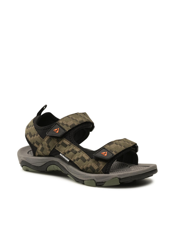 Bergson Basutės Benue Hiking Sandals Žalia