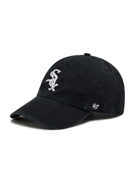 47 Brand Kepurė su snapeliu Chicago White Sox Clean Up B-RGW06GWS-HM Juoda