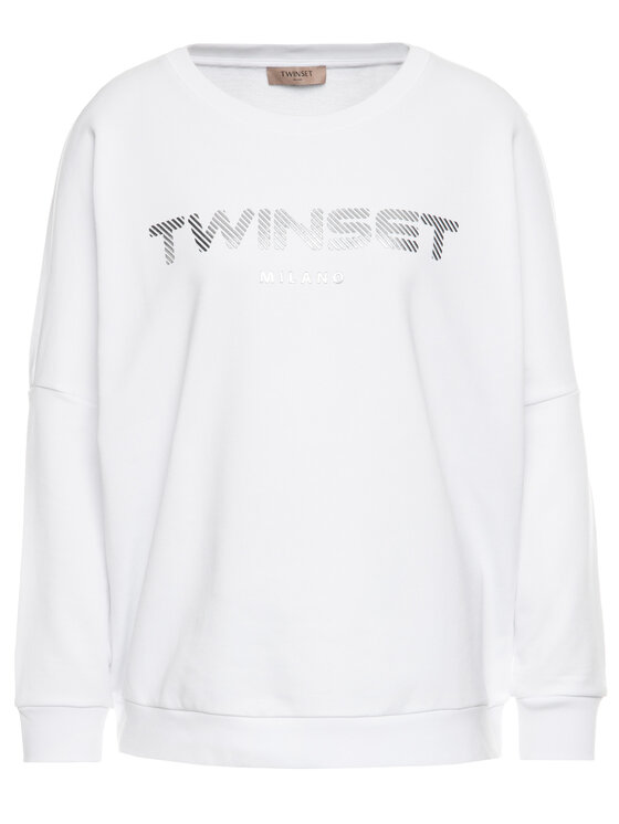TwinSet TwinSet Μπλούζα 201TP2083 Λευκό Oversize