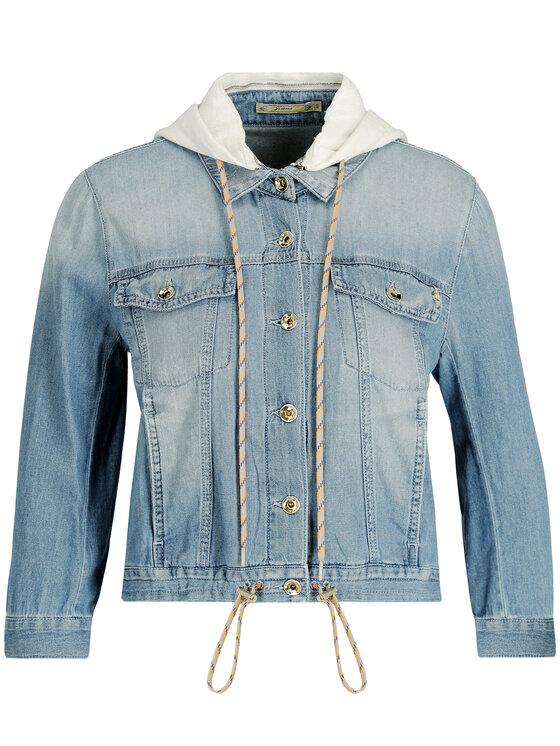 Patrizia Pepe Patrizia Pepe Kurtka jeansowa 2J2221/A3MM-C611 Niebieski Regular Fit