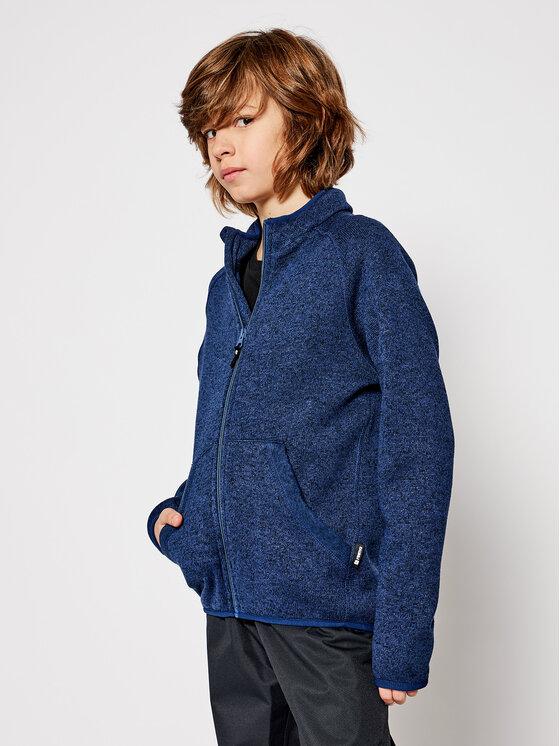 Reima Džemperis Hopper 526355 Tamsiai mėlyna Regular Fit