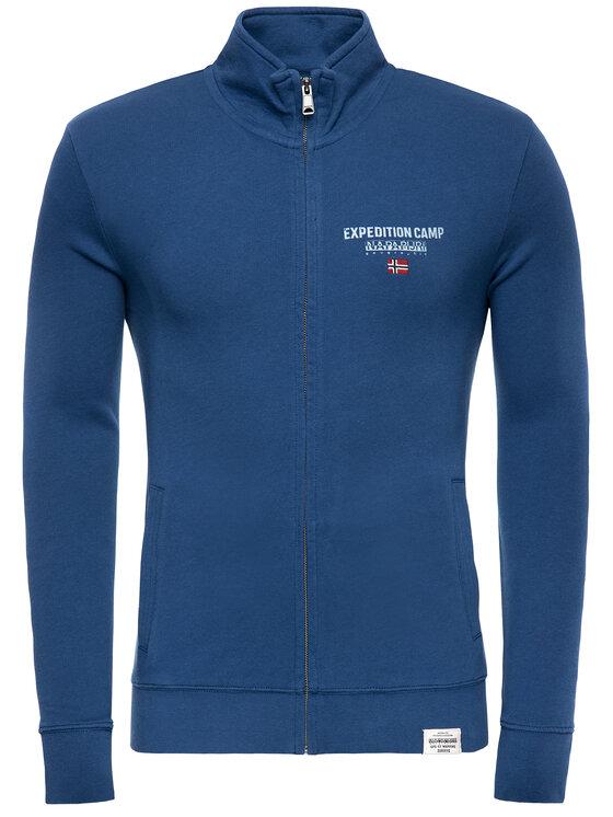 Napapijri Napapijri Sweatshirt Bonthe N0YIIW Bleu marine Regular Fit