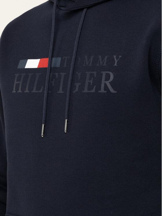 Tommy Hilfiger Tommy Hilfiger Pulóver Basic Hoody MW0MW12672 Sötétkék Regular Fit