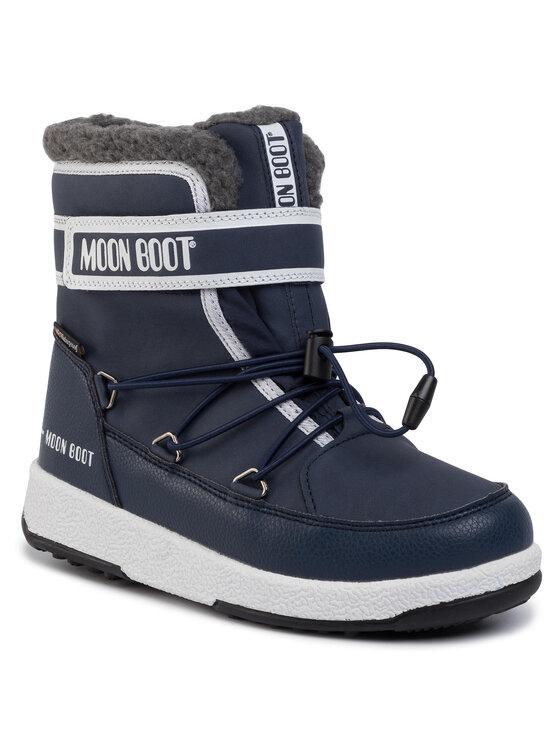 Moon Boot Sniego batai Jr Boy Boot Wp 34051600003 D Tamsiai mėlyna