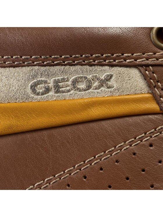 Geox Geox Félcipő U Symbol A U42A5A 00043 C6002 Barna