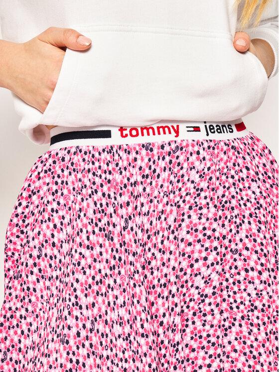 Tommy Jeans Tommy Jeans Miniszoknya Printed DW0DW08344 Rózsaszín Regular Fit