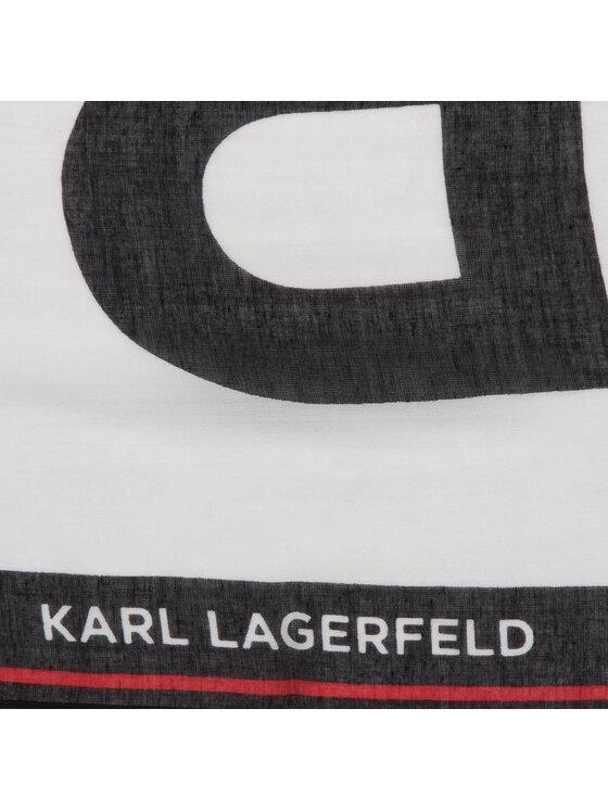 KARL LAGERFELD KARL LAGERFELD Chusta 91KW3309 Biały