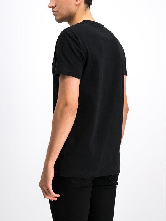 Tommy Jeans Tommy Jeans T-Shirt DM0DM06595 Czarny Regular Fit