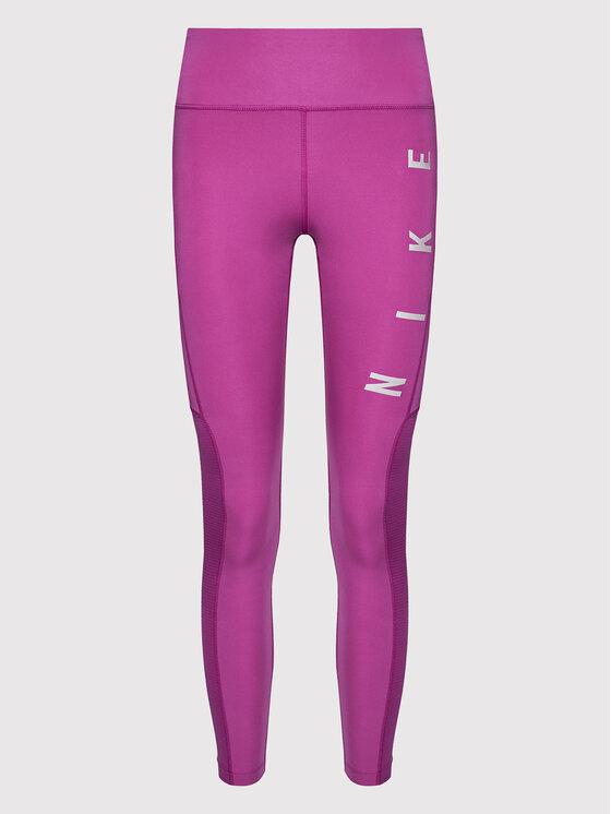 Nike Nike Leggings Epic Fast Run Division CZ9592 Ljubičasta Tight Fit