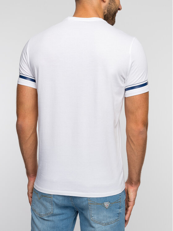 Guess Guess T-Shirt M93I49 K8HM0 Λευκό Slim Fit