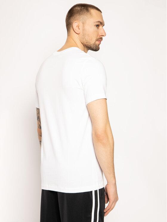 Nike Nike T-Shirt Icon Futura AR5004 Biały Regular Fit