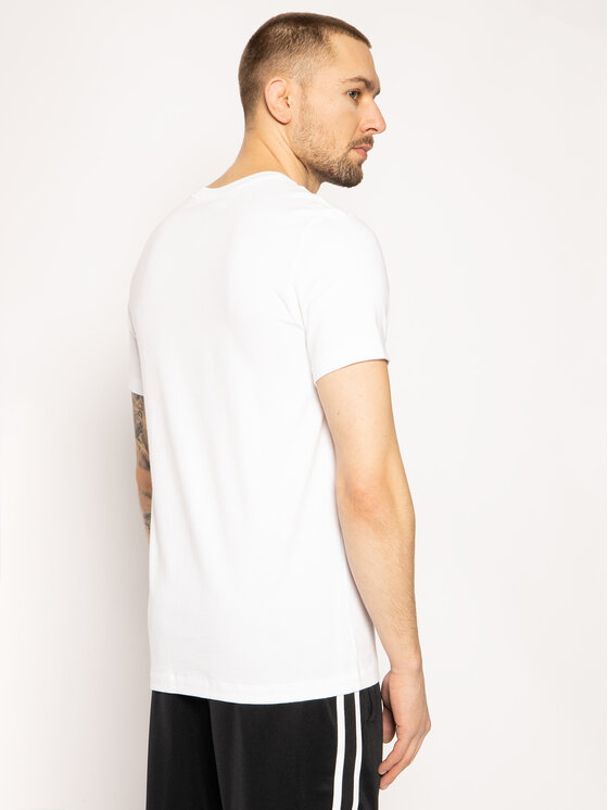 Nike Nike T-shirt Icon Futura AR5004 Blanc Regular Fit