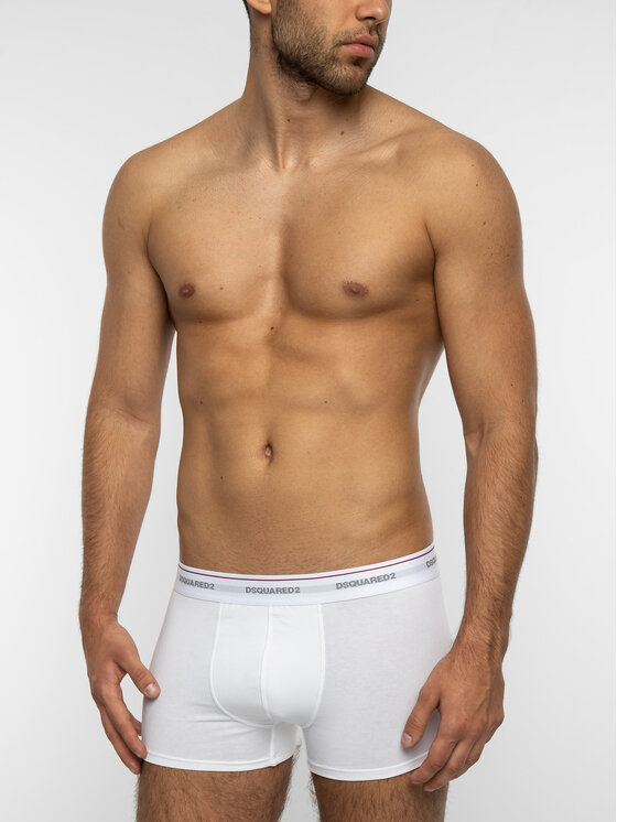 Dsquared2 Underwear Dsquared2 Underwear Komplet 3 par bokserek DCXC60040.11013 Biały