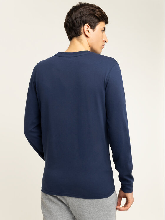 Tommy Sport Tommy Sport Manches longues S20S200313 Bleu marine Regular Fit