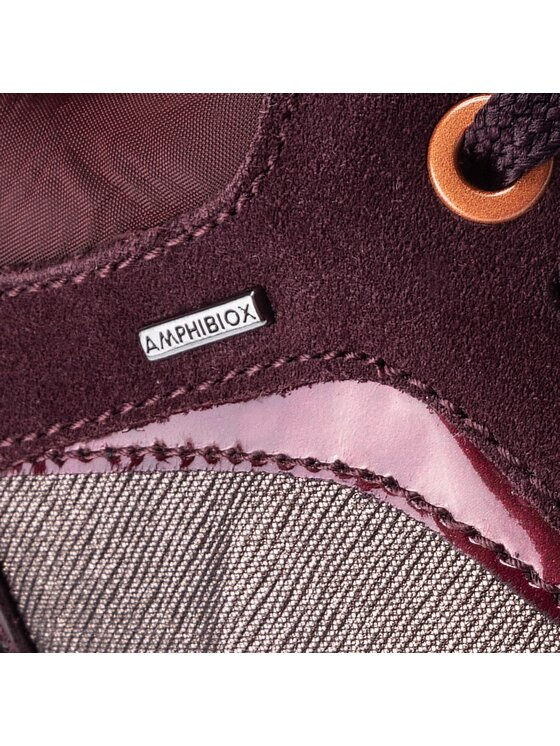 Geox Geox Sneakersy D Aneko B Abx A D843FA 0LYMC C6M7J Bordowy